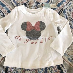 Girls 2t oh two-dles shirt